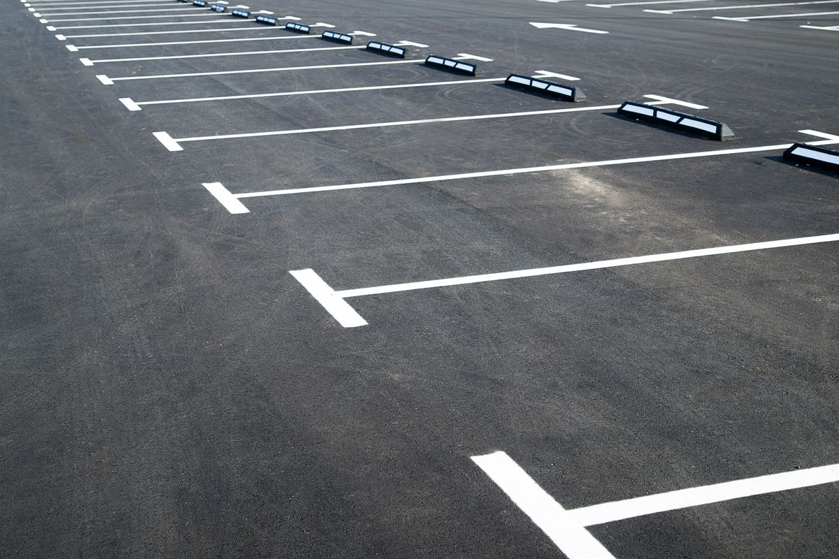 Cedar Rapids Parking Lot Striping