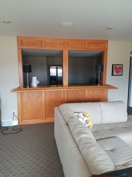 Oak Bar Refinishing in Marion, IA